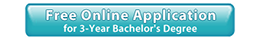 Free Online Application for 3 Year Bachelor's Degree
