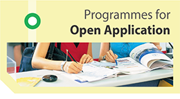 Programmes for Open Application