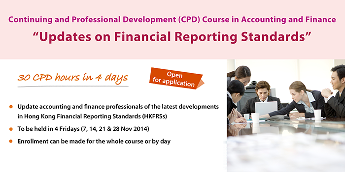 Continuing and Professional Development (CPD) Course in Accounting and Finance