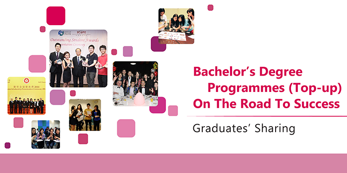Top-up Graduates' Sharing eBook: On The Road To Success