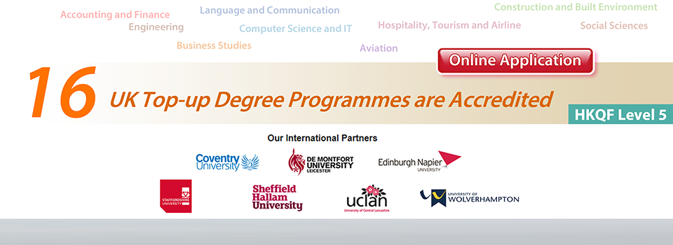 16 UK Top-up Degree Programmes are Accredited