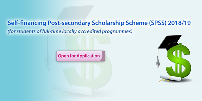 Self-financing Post-secondary Scholarship Scheme (SPSS) 2018/19